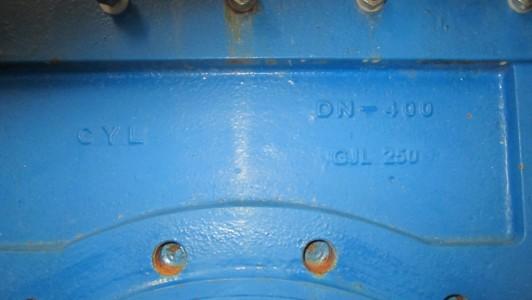 CYL-Hydraulikschieber<br />DN 400