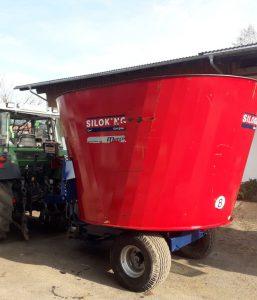 Siloking<br />Futtermischwagen Kompakt 12m³